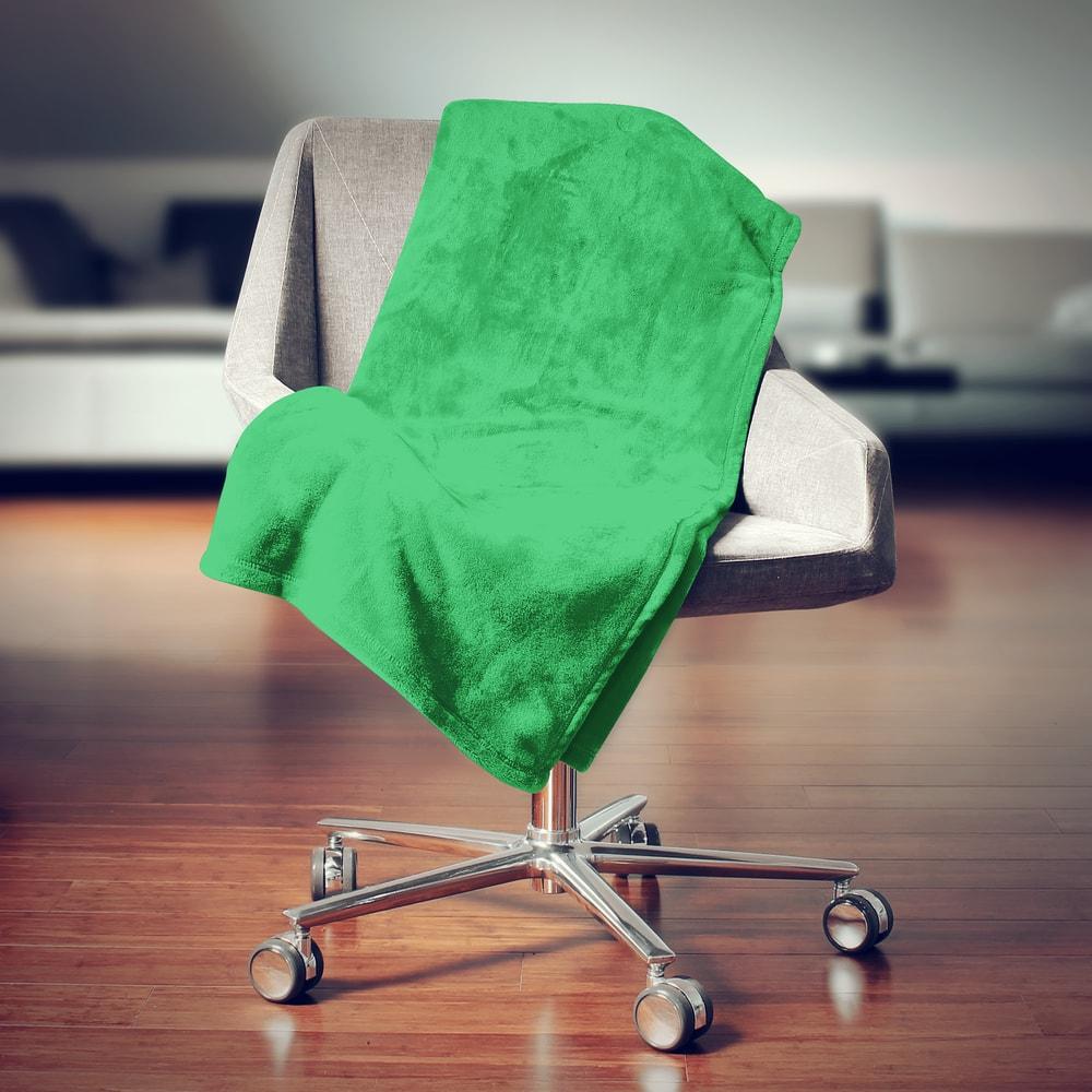 Bedario.hu - Mikroplüss pléd 150x200 cm - Zöld - Mikroplüss takarók ... 3255710f70