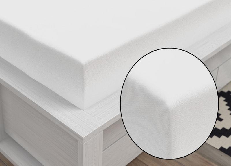 Bedario.hu - Jersey lepedő (120 x 200 cm) - fehér - Kvalitex ... 4dec248163