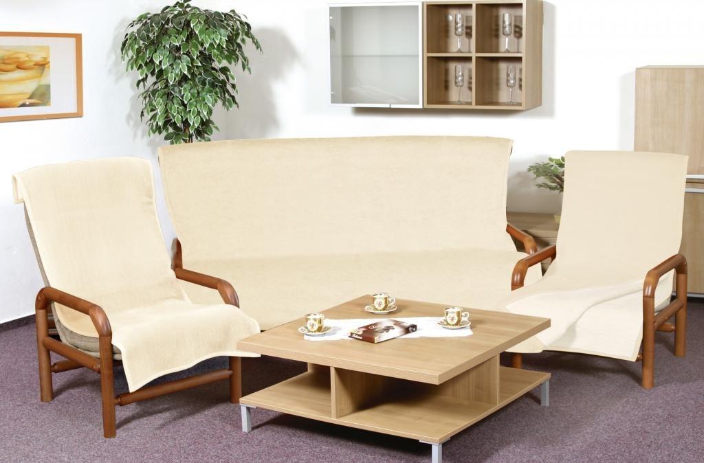 Bedario.hu - Egyszínű ülőgarnitúra pléd 3+1+1 vil.bézs  sötét bézs ... bb9c974600
